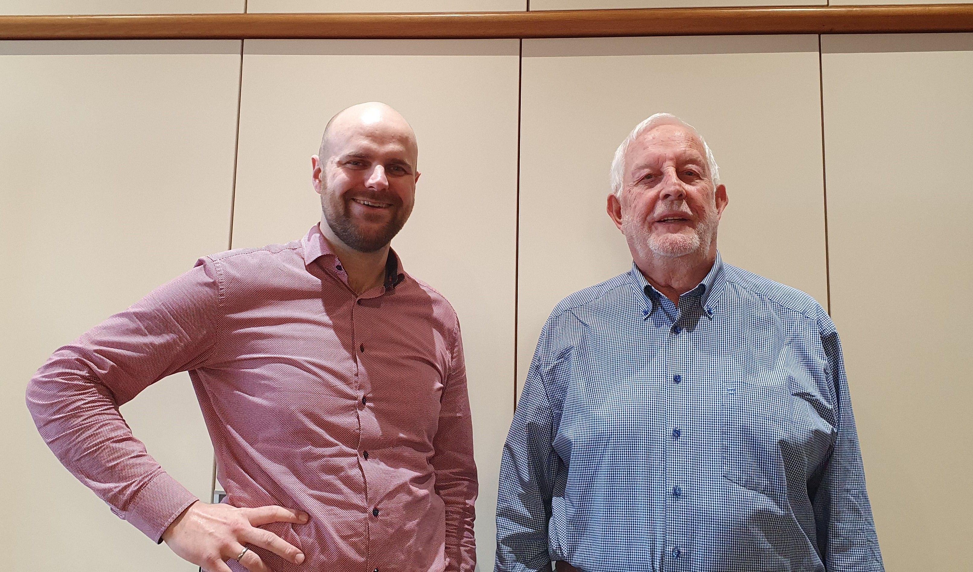 Stephan Meyer und Reinhard Lange